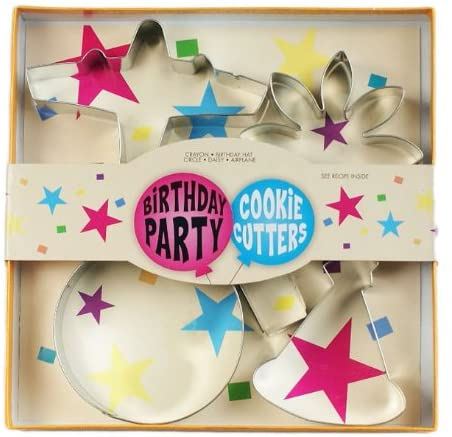 Cookie Cutter Set - Birthday Party