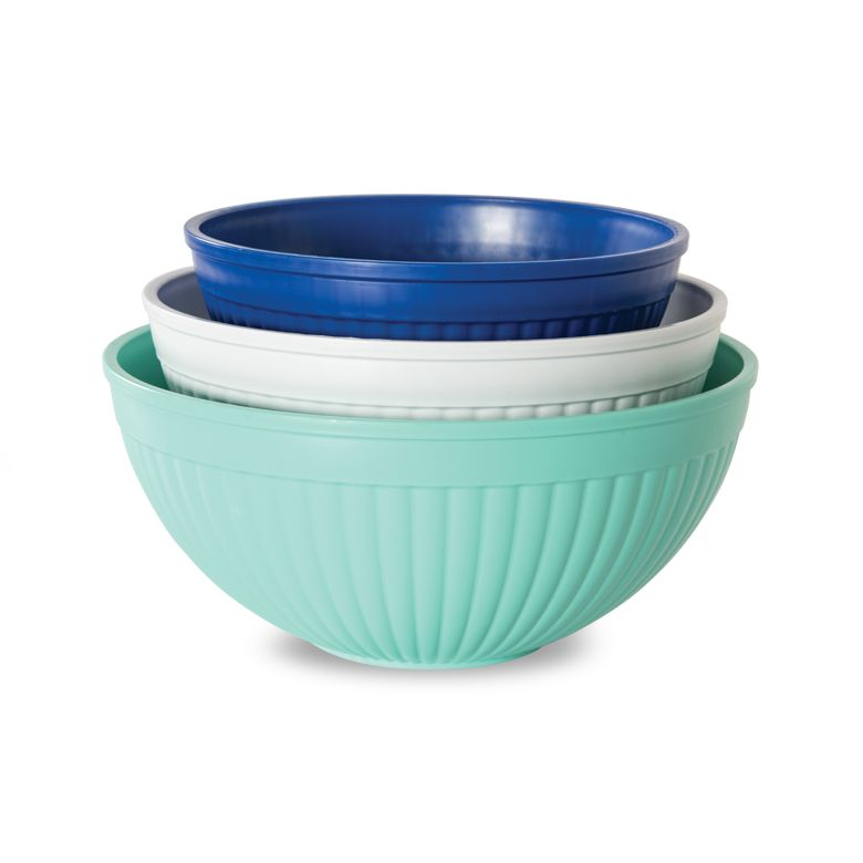 3 Piece Prep & Serve Mixing Bowls