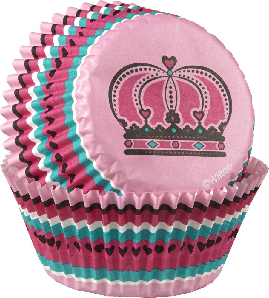 Cupcake Standard Liners - Queen Crown