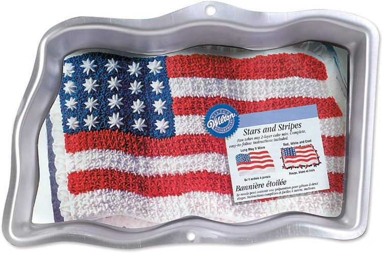 Baking Pan - Stars & Stripe Flag