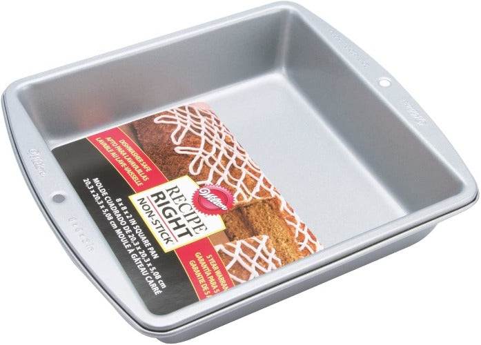 "Non-Stick Square Pan 8"" x 8"" x 2"""