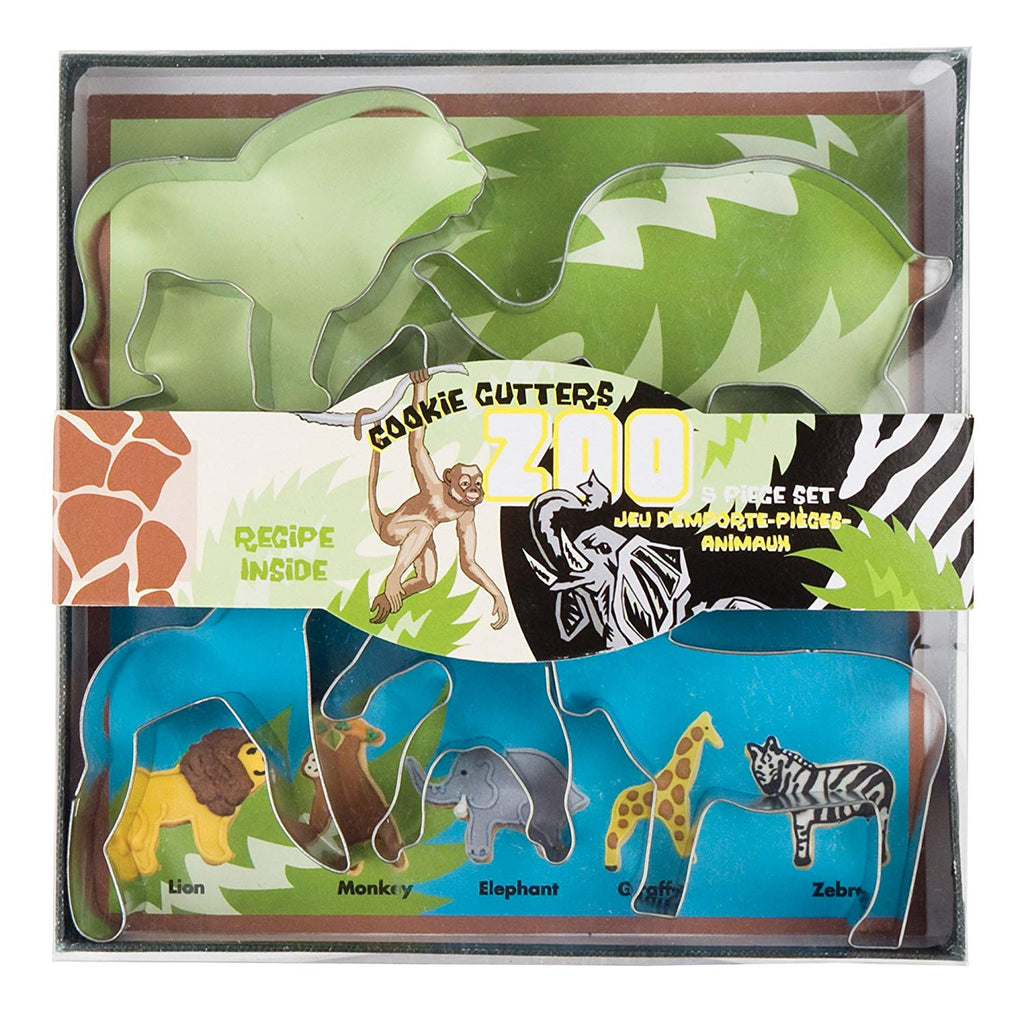 Cookie Cutters - Zoo Animals Set