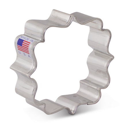Cookie Cutter - Ornate Square Plaque