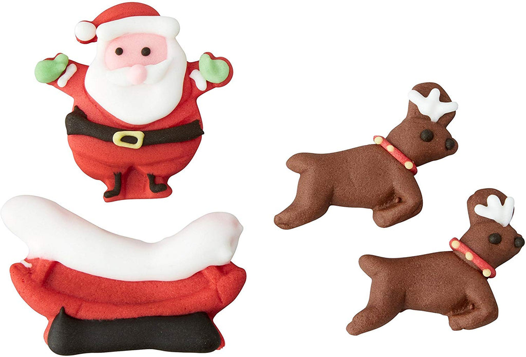 Candy Decorations - Santa Sleigh Deer