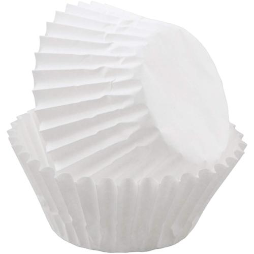 White Mini Cupcake Liners, 100 ct