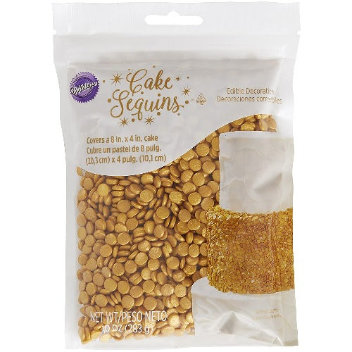 Edible gold decorations