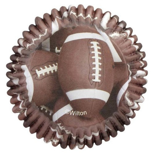 ColorCups Football Standard Cupcake Liners