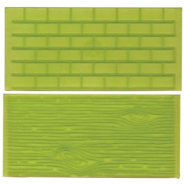 Impression Mats - Tree Bark and Brick Wall