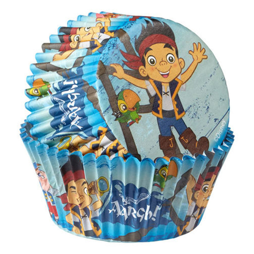 Standard Cupcake Liners - Disney Jake and The Never Land