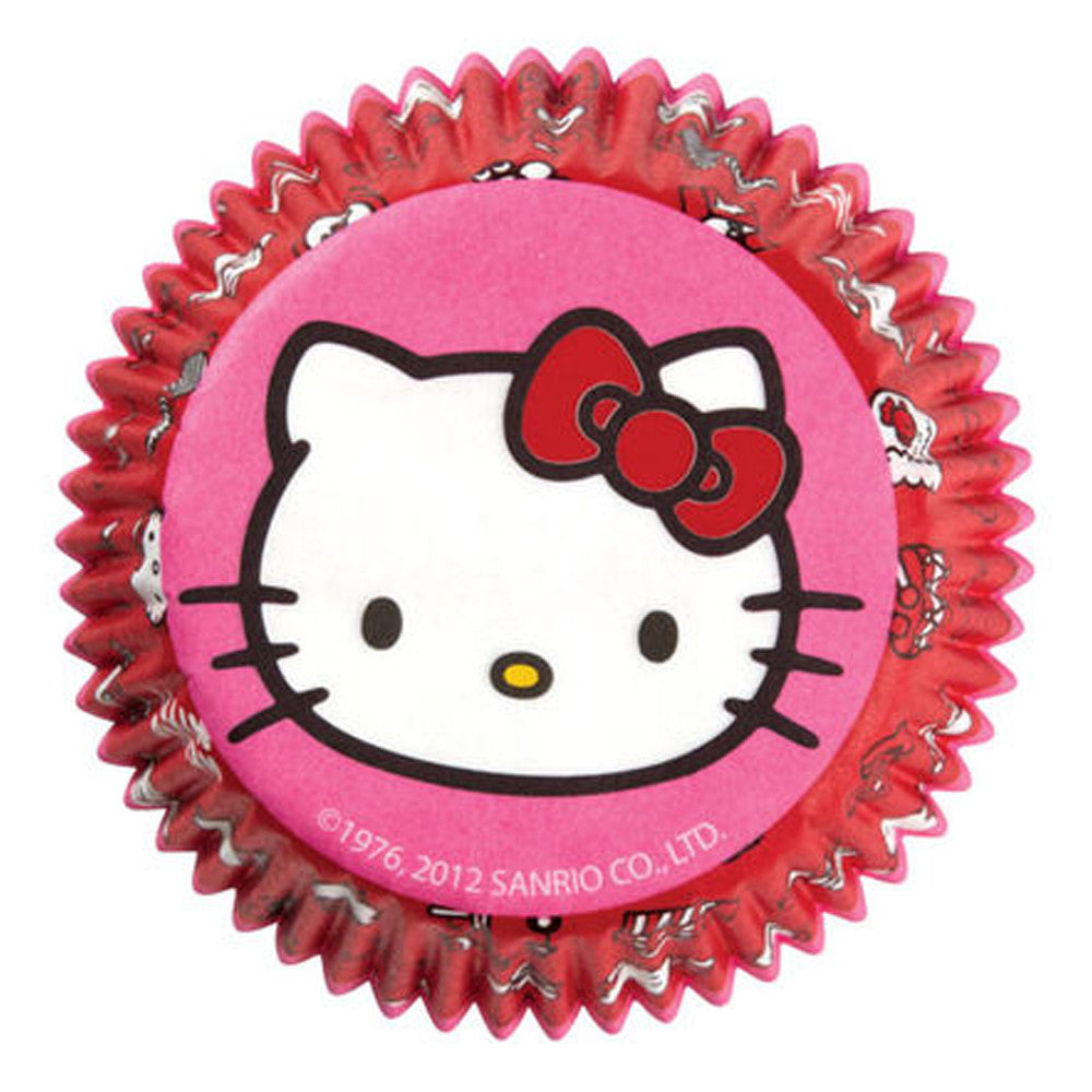 Standard Cupcake Liners - Hello Kitty