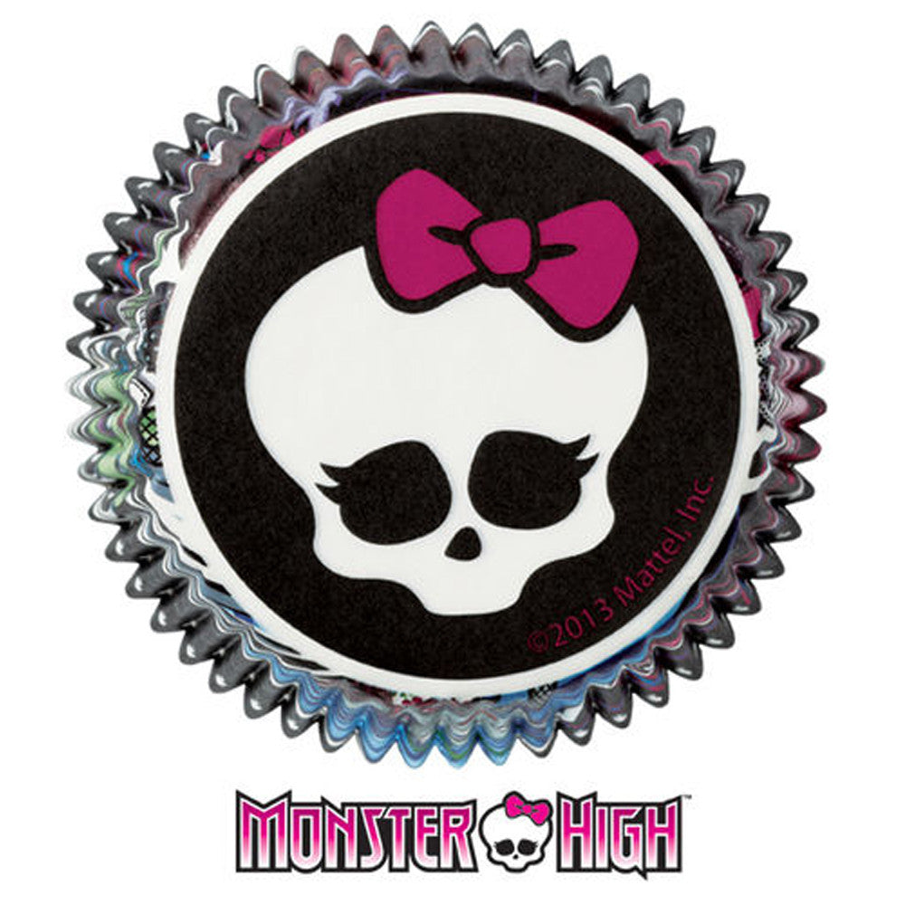 Standard Cupcake Liners - Monster High