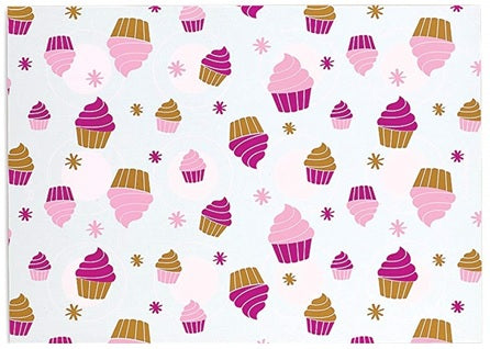 Cupcake/Cookie 2-Sided Silicone Baking Mat