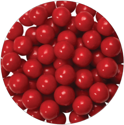 Sugar Pearls - Shimmer Red