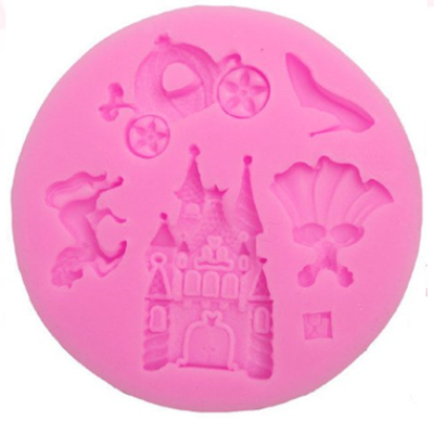 Silicone Mold - Princess Assortment