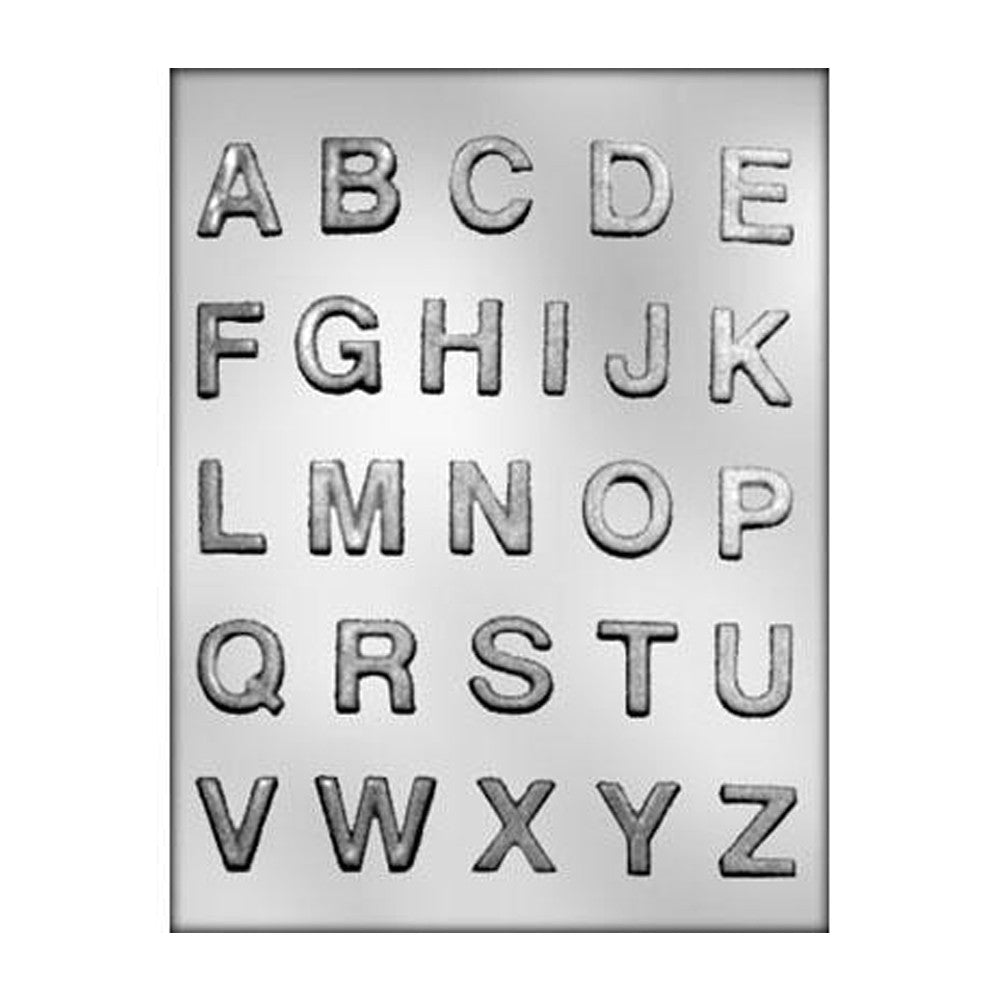 Chocolate Mold - Alphabet