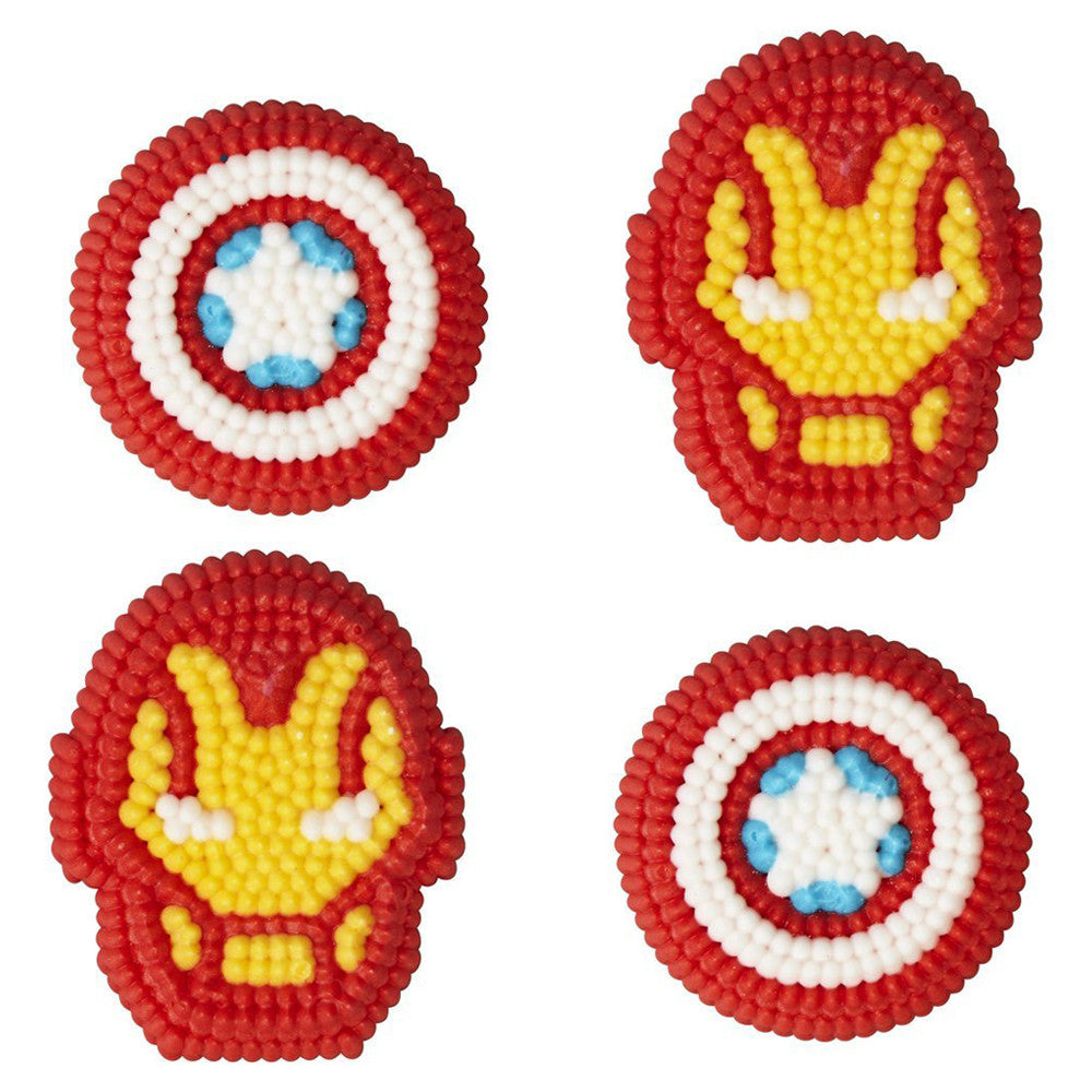 Avengers Icing Decorations