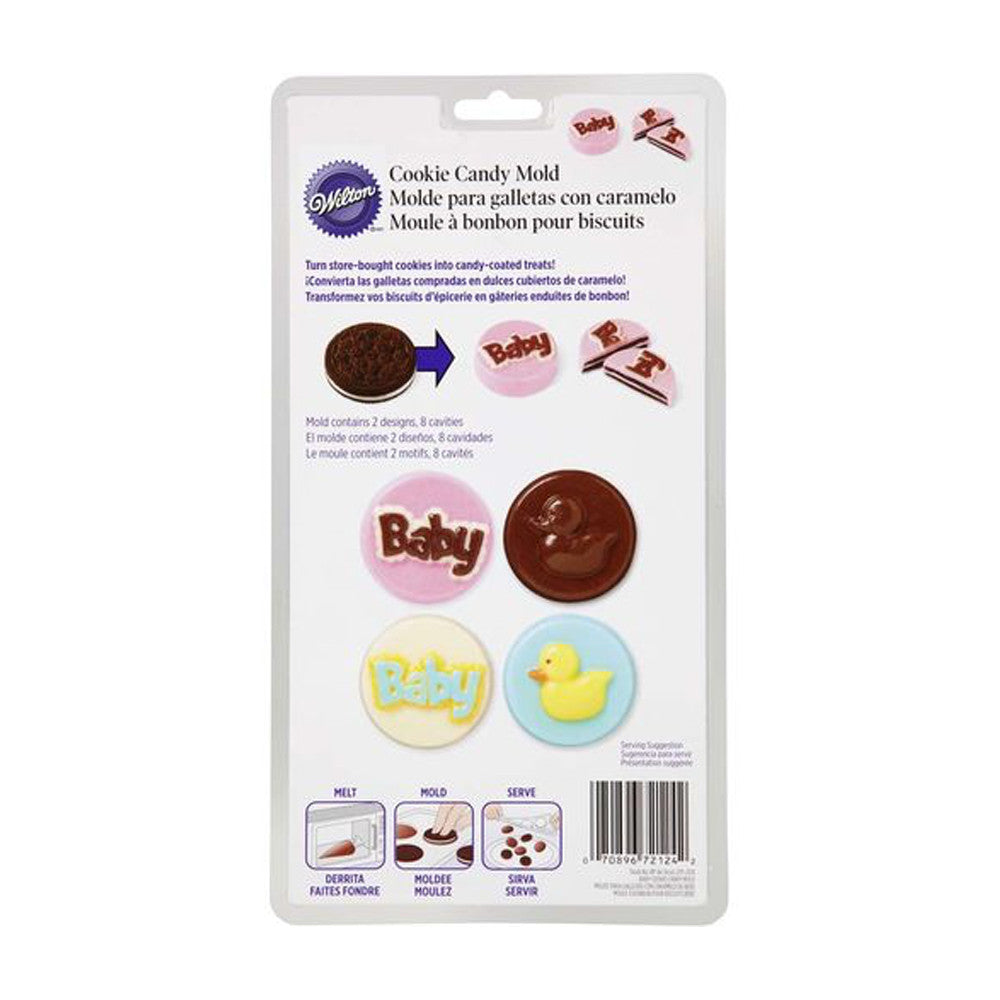 Candy Mold - Baby Cookie