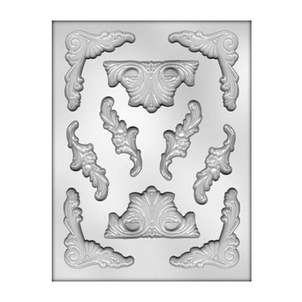 Smaller Baroque Designs Mold