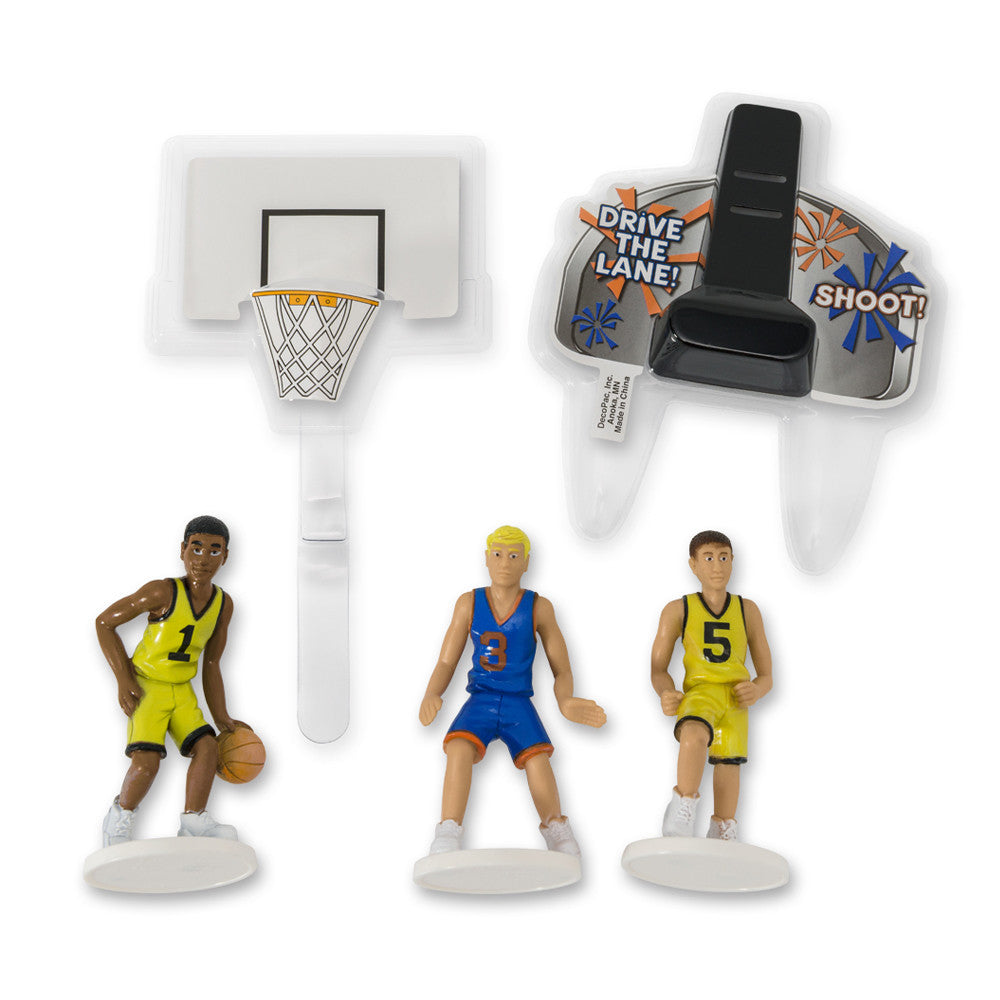Basketball All Net Cake Topper