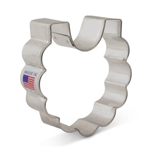 Baby Bib Cookie Cutter 3""