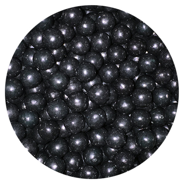 6mm Black - Pearls 4oz