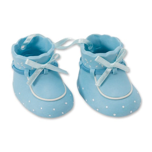 Baby Booties Cake Topper Blue