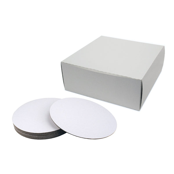 12x12x5 Cake Board & Box Set