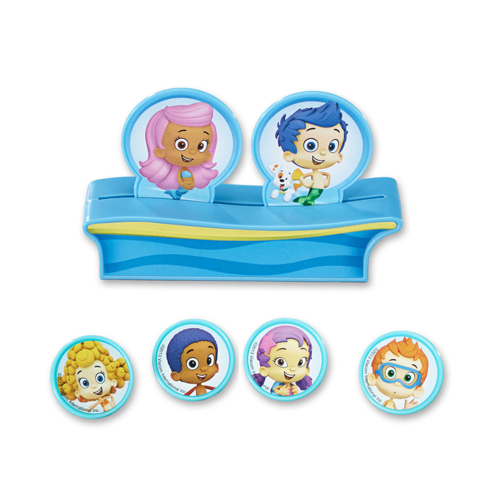 Bubble Guppies Gil, Molly & Gang Cake Topper
