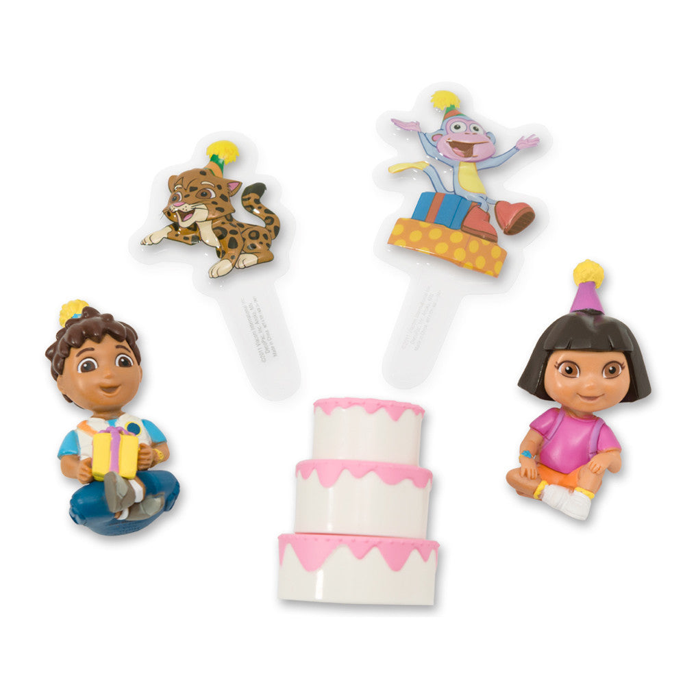 Dora Birthday Celebration Cake Topper