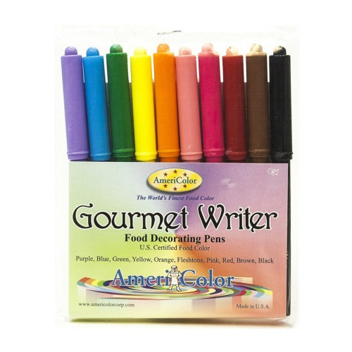 AmeriColor Gourmet Writers Set of 10