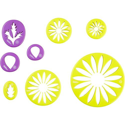 Gum Paste Flower Cut-Outs Set