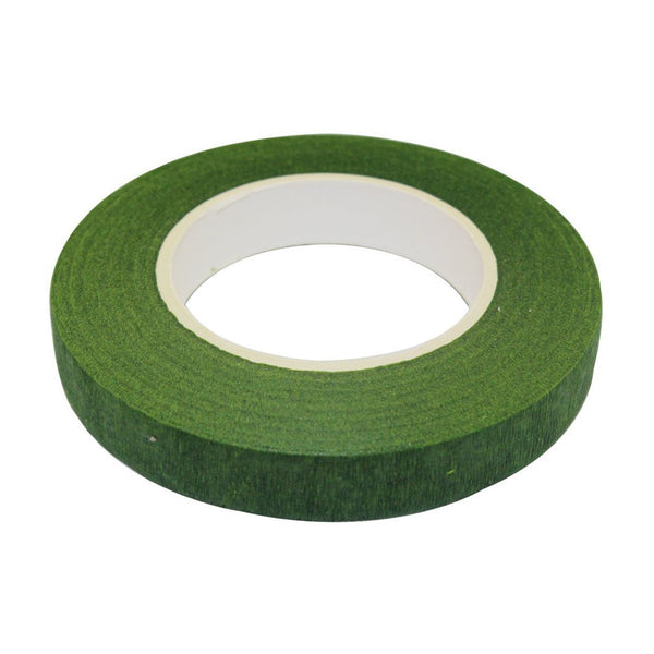 "1/2"" Wide Green Floral Tape"