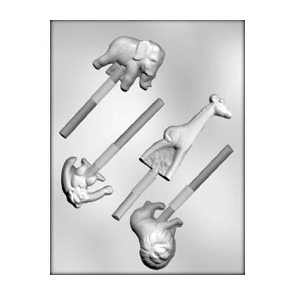Jungle Animal Chocolate Mold
