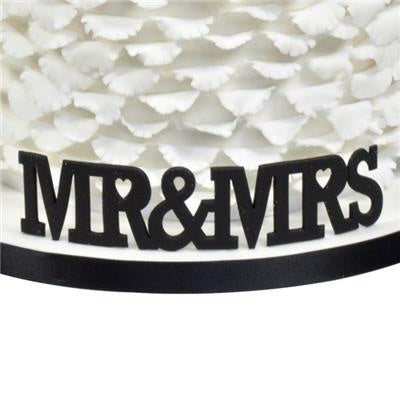 Curved Words MR&MRS Cutter
