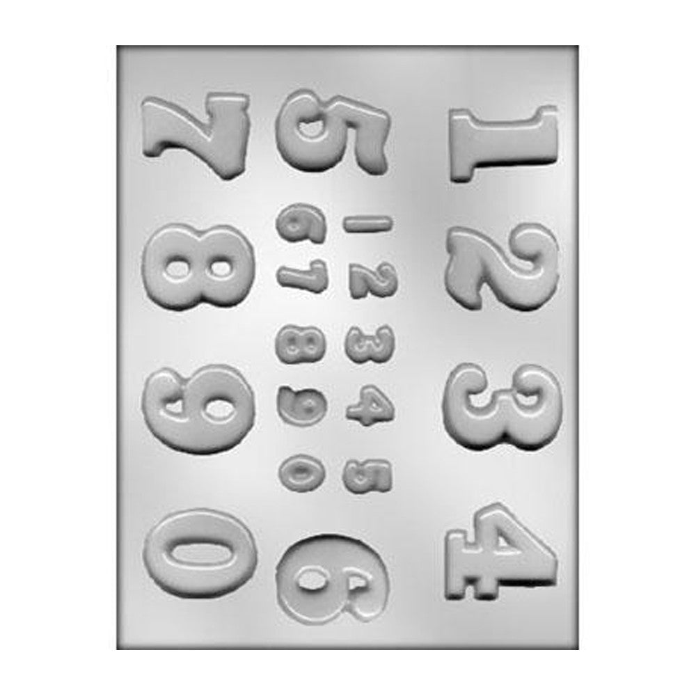 Chocolate Mold - Numbers
