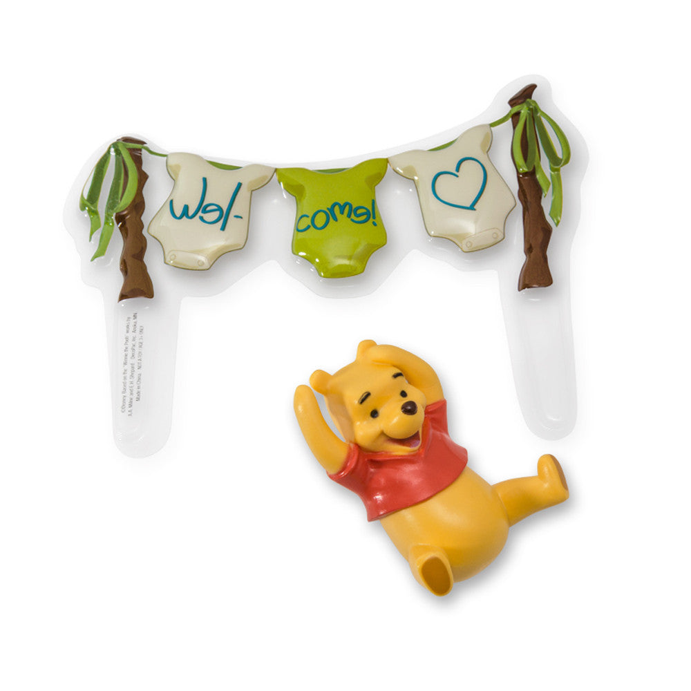 Cake Topper - Winnie the Pooh Welcome Baby