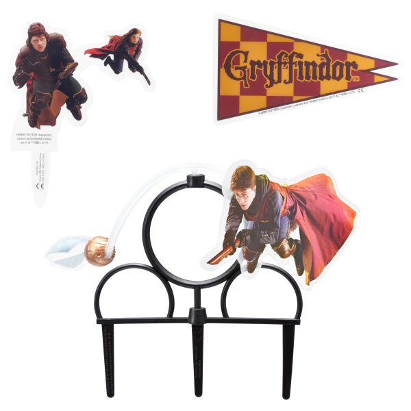 Cake Topper - Happy Potter Quidditch Chase
