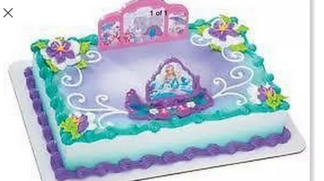 Cake Topper - Barbie Island Princess Gazebo