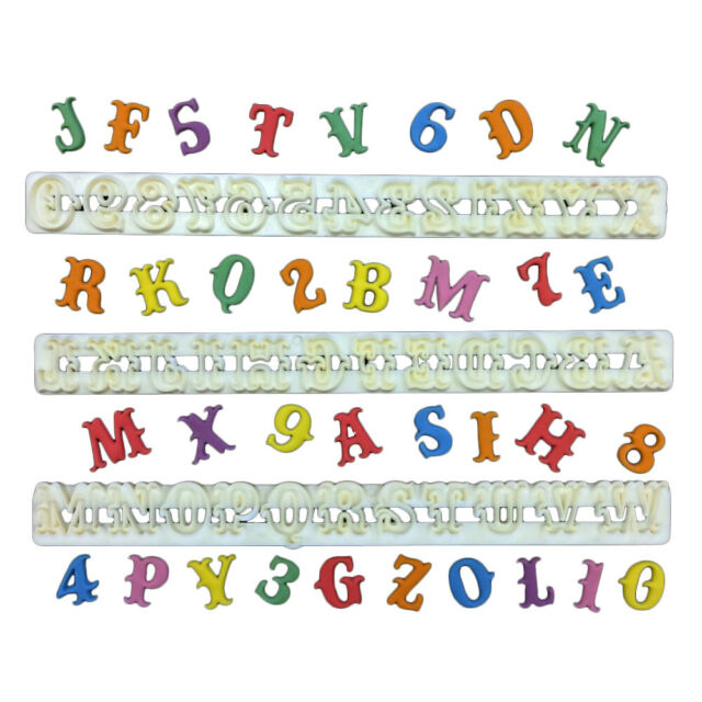 Carnival Alphabet and Numbers Set