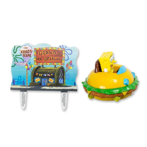 Cake Topper - SpongeBob SquarePants Krabby Patty