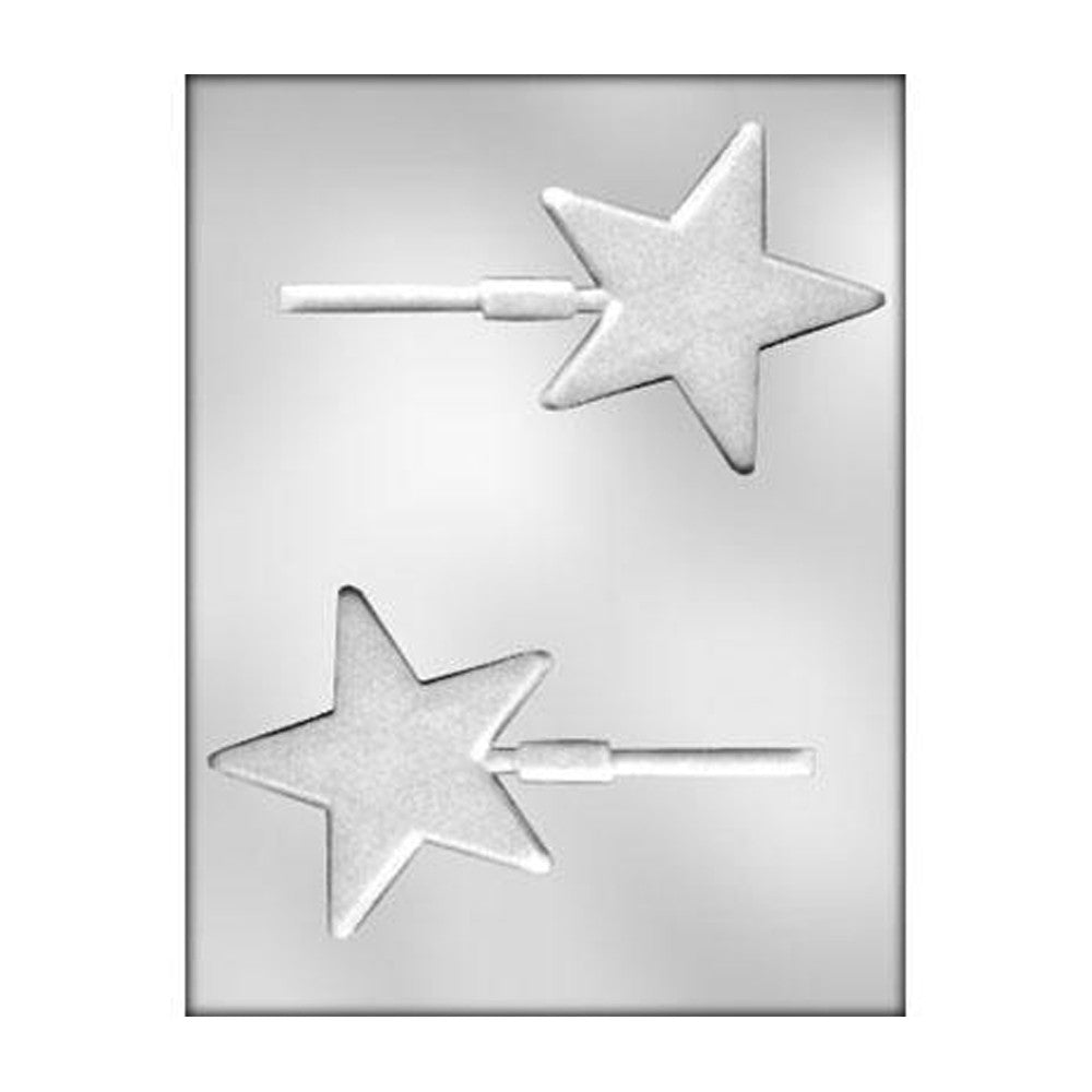 Chocolate Mold - Textured Star