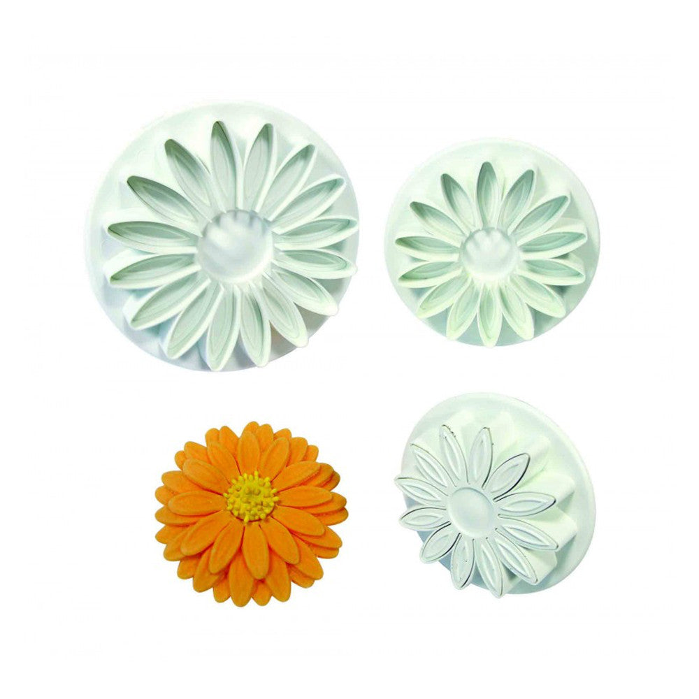 Veined Sunflower Plunger Cutter Set