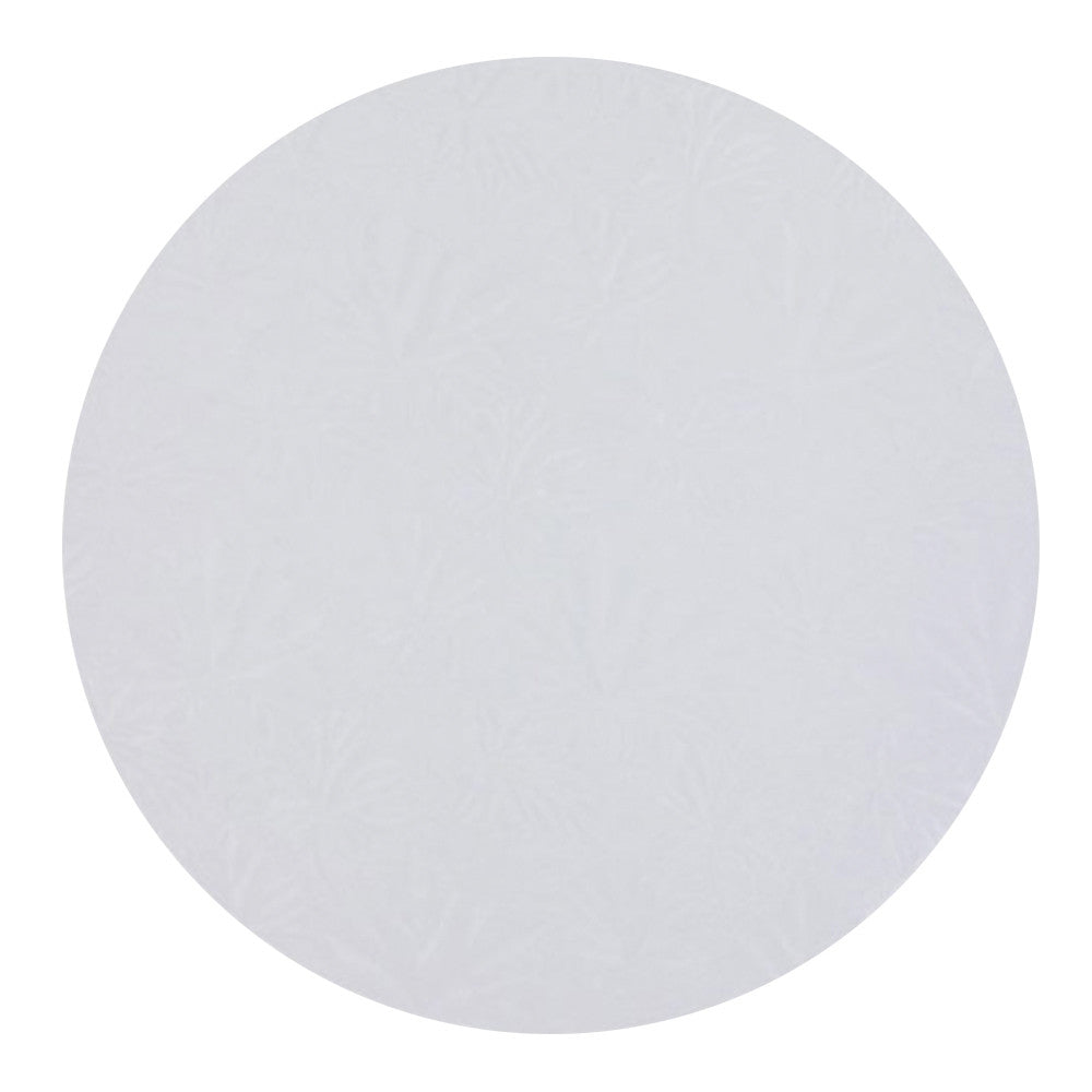 Round White Cake Drum 1/2'' Thick