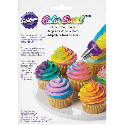 Color Swirl Three-Color Coupler Set