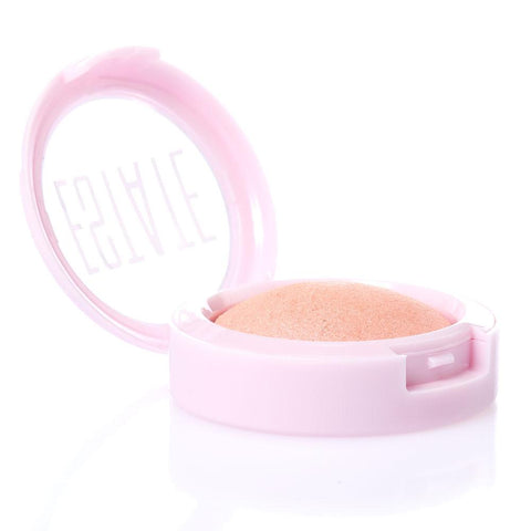 dew me | baked highlighter in flushed - Estate Cosmetics Cruelty Free and Vegan