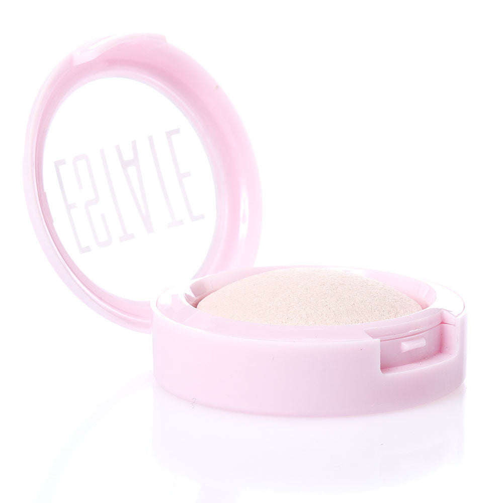 dew me | baked highlighter in pearl - Estate Cosmetics Cruelty Free and Vegan