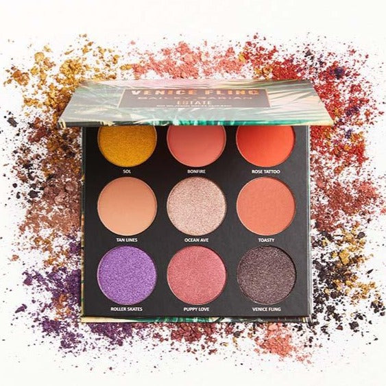 X Bailey Sarian Venice Fling Eyeshadow Palette - Estate Cosmetics Cruelty Free and Vegan