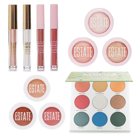 Holiday Bundle - Estate Cosmetics Cruelty Free and Vegan