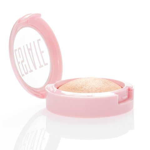 dew me | baked highlighter in byeee - Estate Cosmetics Cruelty Free and Vegan