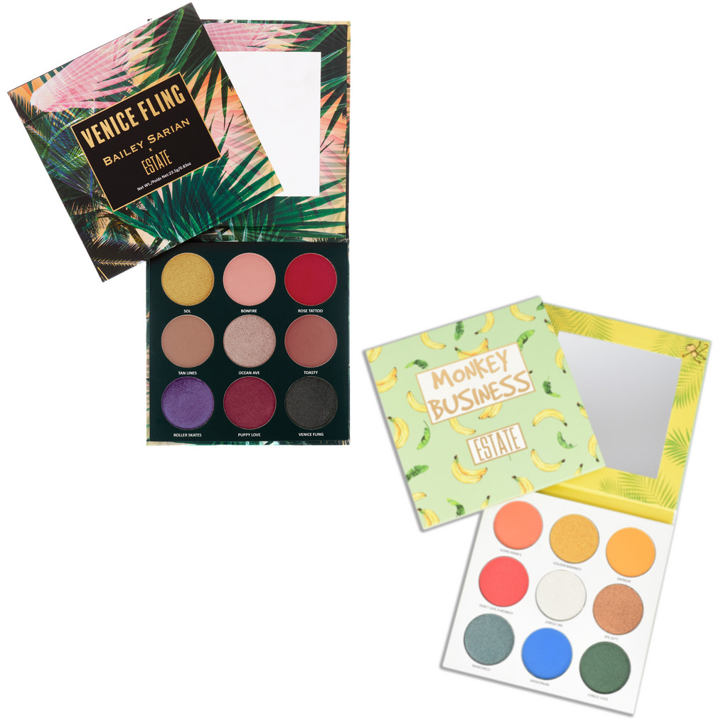 X Bailey Sarian & Monkey Business Bundle - Estate Cosmetics Cruelty Free and Vegan